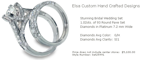 Custom Wedding Ring Sets Custom Engagement Rings Women 39s Wedding Rings
